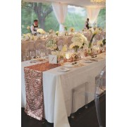 Chemin de table glitter en sequin