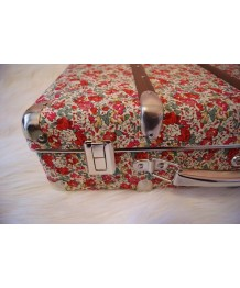 Valise liberty fleurie